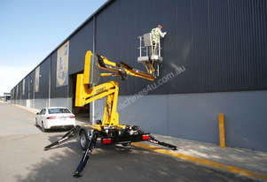 Comet X-Trailer - 12m Compact Trailer Mounted Boom Lift | Cherry Picker