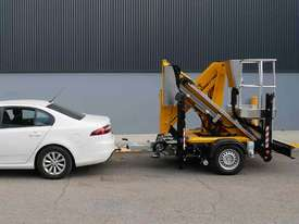 Comet X-Trailer - Compact Trailer Mounted Boom Lift | Cherry Picker - picture2' - Click to enlarge