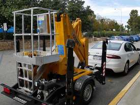 Comet X-Trailer - Compact Trailer Mounted Boom Lift | Cherry Picker - picture3' - Click to enlarge