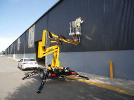 Comet X-Trailer - Compact Trailer Mounted Boom Lift | Cherry Picker - picture0' - Click to enlarge