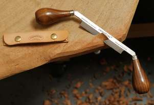 Leather Case for 4 Carver's Drawknife