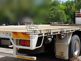 Hino Flat Bed Truck with 3ton Crane, 200k km�s. EMUS NQ - picture3' - Click to enlarge