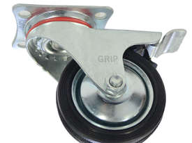 43025C - RUBBER MOULD STEEL CORE CASTOR(SWIVEL/BRAKE) - picture0' - Click to enlarge