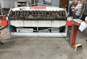JUST IN - METALMASTER 2500mm x 2mm Hydraulic Panbrake