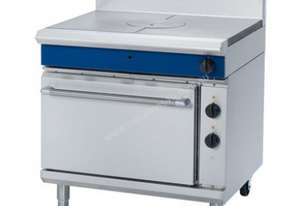 Blue Seal Evolution Series GE570 - 900mm Gas Target Top Electric Static Oven Range