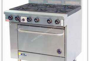 Goldstein 6 Burner Gas Top With Fan Forced Convection Oven