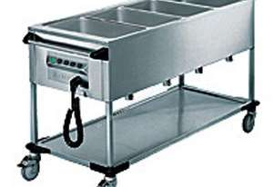 Rieber ZUB-4 Heated Delivery Trolleys