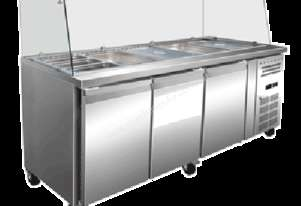 Exquisite SBC650H Three Door Salad / Noodle Bar 1790W