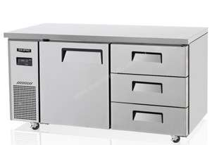 Skipio SUR15-3D-3 Under Counter Refrigerator Six Drawers