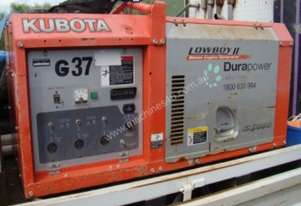 KUBOTA SINGLE PHASE DIESEL GENERATOR - LOT 91