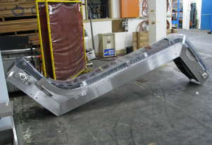 Stainless Steel Incline Scoop Bucket Conveyor