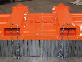 Italian made Forklift Broom with Steel Brushes - picture3' - Click to enlarge