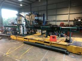 Wood mizer SLP double bandsaw - picture0' - Click to enlarge