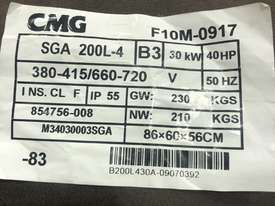 CMG 30kw Electric motor brand new  - picture0' - Click to enlarge