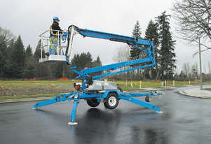 2014 Model Genie TZ-5030 – 50? Trailer Mounted Cherry Picker