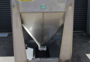Fallsdell Machinery Stainless Steel Hopper