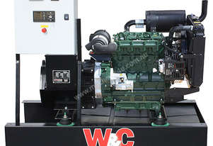 16.5kVA, Three Phase, Lister Petter Open Standby Generator