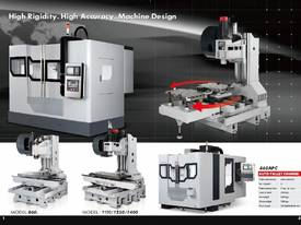 Acra Seiki Twin Pallet Vertical Machining Centres - picture2' - Click to enlarge