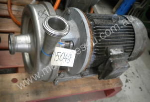 Stainless Steel 2.5/2 inch Centrifugal Pump