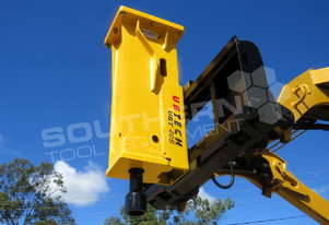 Silence Hydraulic Hammer UBT40S Post Driving Hammer Tractor Front End Loader ATTUBT