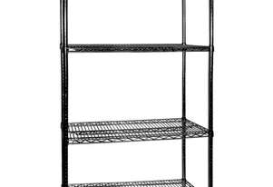 B18/72 Four Tier Shelving - 457 mm deep x 1880 high x 1830 width
