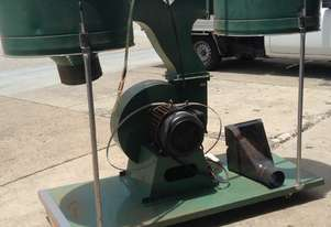 3 phase Dust Extractor 10HP dual bag never used with bags still wrapped  surplus to requirements