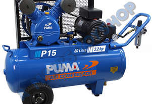 AIR COMPRESSOR 15 CFM PUMA 10 AMP