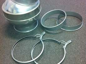 Flexible Ducting and Flexible Hose - CNC hose and Edgebander hose - picture3' - Click to enlarge