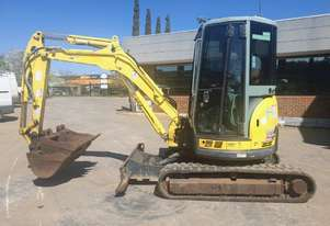 2012 YANMAR VIO35-5 3.5T EXCAVATOR WITH LOW 1890 HOURS AND FULL A/C CABIN