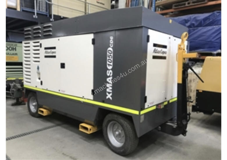 Atlas Copco AFTERCOOLED DIESEL COMPRESSOR XAMS1050 CD-6 1050CFM