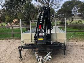 Trailer mounted Crane - picture1' - Click to enlarge