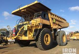 1988 Cat 785 Off-Road End Dump Truck