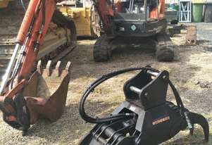 2012 Kubota U35-3 Excavator with attachments