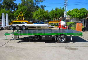 Interstate Trailers 9 Ton Single Axle Container Trailer ATTTAG