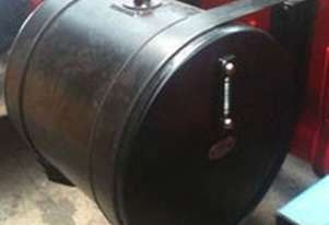 Hydraulic Oil Tank Round Black Powdercoated 60L (550D x 285L) H032E