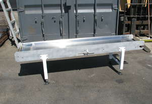 Flat Belt Powered Conveyor Conveyor Base Frame - No Belt