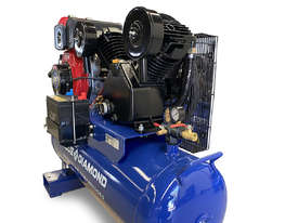 Piston Air Compressor- Diesel 7HP 20 CFM 100L 145 PSI - Truck / Ute - picture3' - Click to enlarge