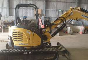 Used 2015 Yanmar VIO55 5.5 Tonne Mini Excavator for sale