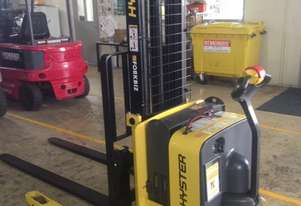 Demo Hyster Walkie Stacker For Sale!