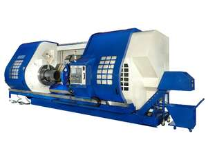 CNC HOLLOW SPINDLE LATHE. UP TO 24 INCH HOLLOW SPINDLE. HD SLANT BED.