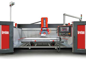 BRETON CNC MONOBLOC BRIDGE SAW FOR MARBLE, GRANITE, QUARTZ AND CERAMIC