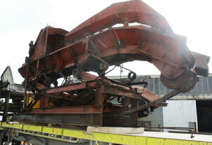 Heavy Duty De-barker Tipping Out Feed Log Conveyor suit saw mill
