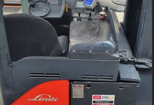 Linde R20S Rider-Reach 2Ton (8.25m Lift) Electric Forklift