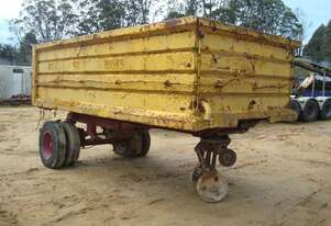 TIPPING TRAILER - OFFROAD/FARM USE ONLY