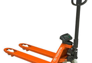 Toyota Pallet Jack with Weight Indicator