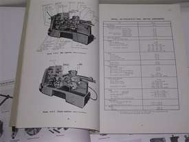 METAL WORKING MACHINERY, WORKSHOP MANUALS. - picture6' - Click to enlarge