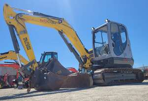 USED 2018 WACKER NEUSON 6003 6T EXCAVATOR WITH FULL CABIN AND LOW 391 HOURS