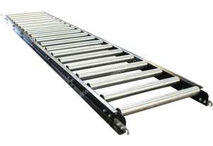 3000mm x 290mm Wide Roller Conveyor