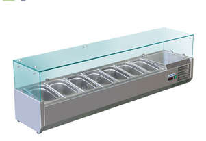 BAIN MARIE, 7 X 1/3 GN TRAYS INCLUDED VRX-1600T