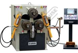 HPK-80NC NC Section & Pipe Rolling Machine 80 x 80 x 8mm Angle Capacity Includes 3-Axis 7.7